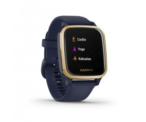 Garmin Venu SQ Music Edition Navy/Light Gold